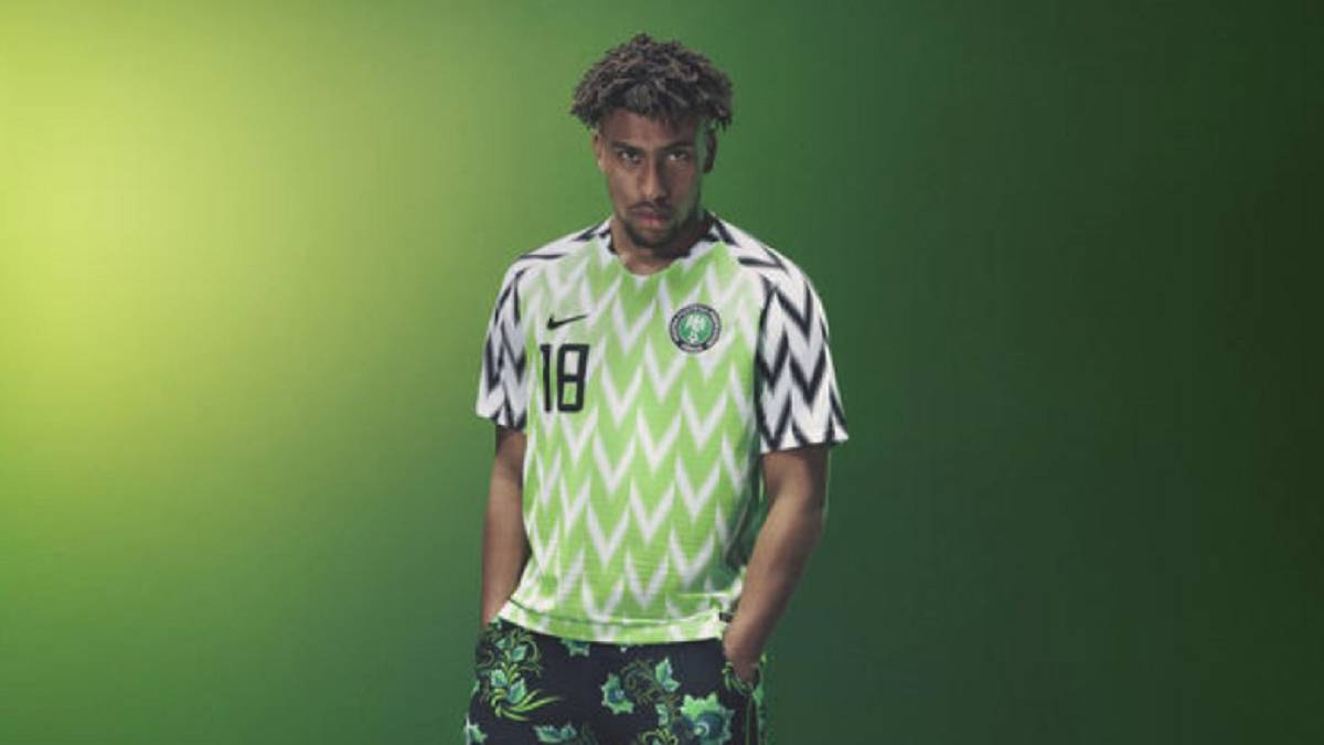 Nigeria World Cup Jersey Sells Out After Just Three Minutes Ascom Barcelona Couple