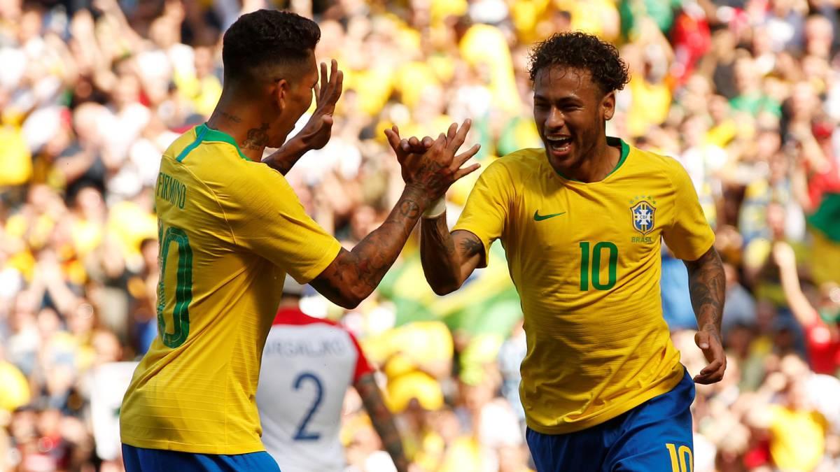 Brazil 2-0 Croatia: World Cup 2018 warm-up friendly match ...