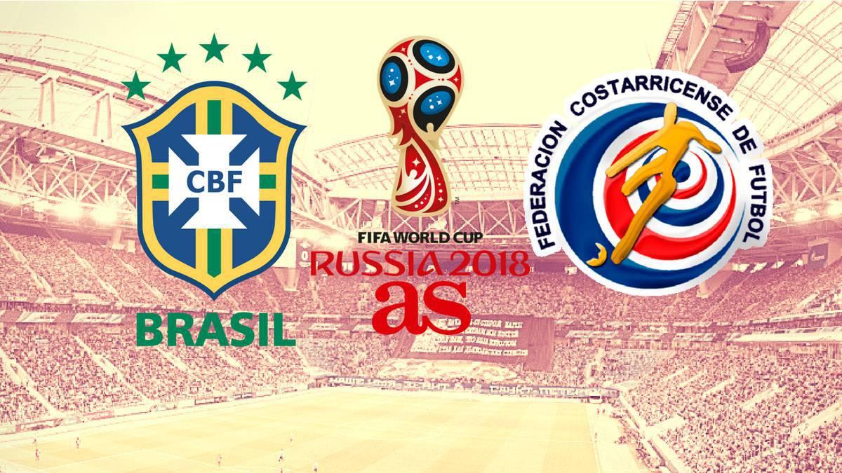 brazil vs costa rica live world cup 2018 e as
