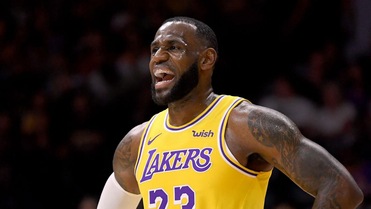 6efaf81c225 LeBron James  Lakers debut felt different - AS.com