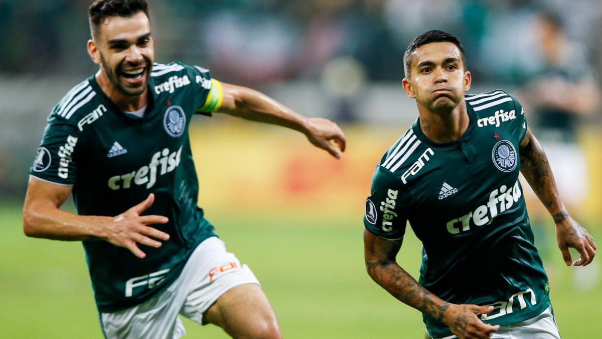 fd69663017 Scolari s Palmeiras ease into Libertadores semi final - AS.com