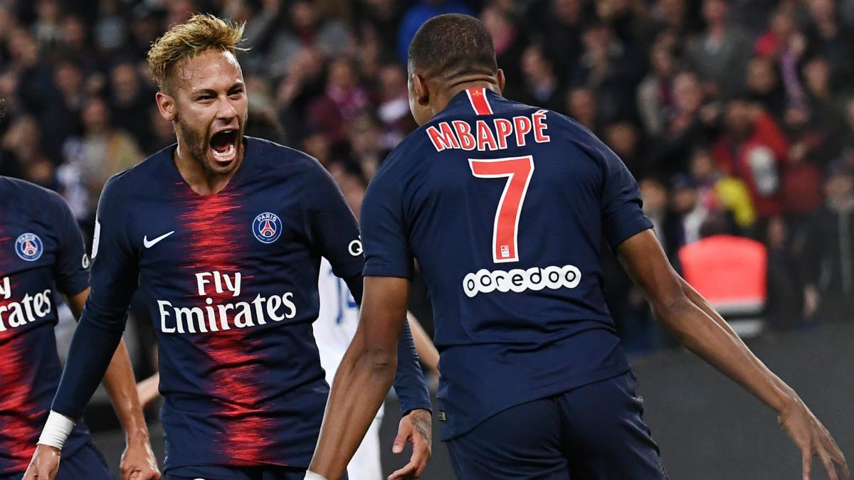 Image result for neymar mbappe
