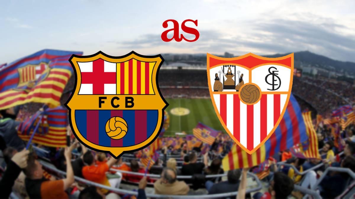 ملخص مباراة برشلونة ضد اشبيلية