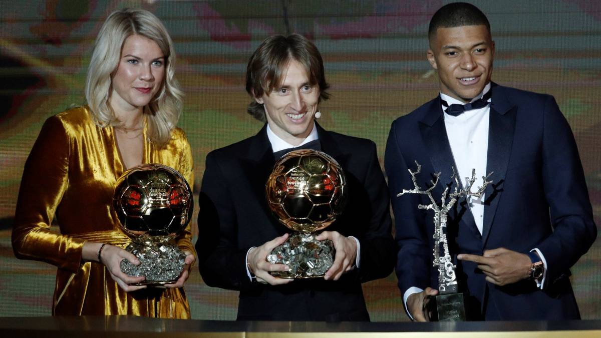 42a452197a8c5 The 2018 Ballon d Or ceremony as it unfolded in Paris - AS.com