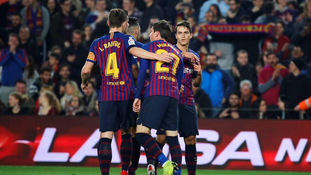 0744dca5d4a Barcelona 4 - 1 Cultural Leonesa (agg. 5-1)  Copa del Rey 2018 19 ...