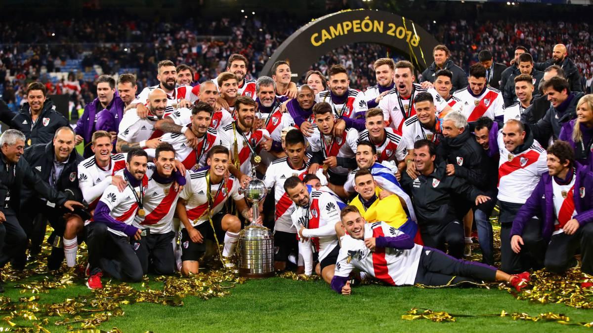 River Plate Copa Libertadores Champions 2018 - AS.com e23daf505bd