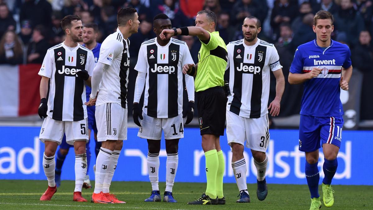ronaldo praises var after juventus dramatic win over sampdoria as com