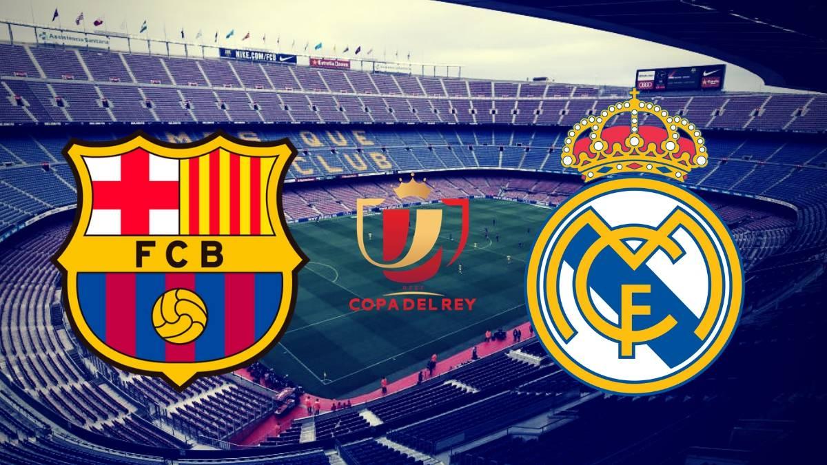Image result for Barcelona vs Real Madrid Spanish Copa del Rey 2019 Live