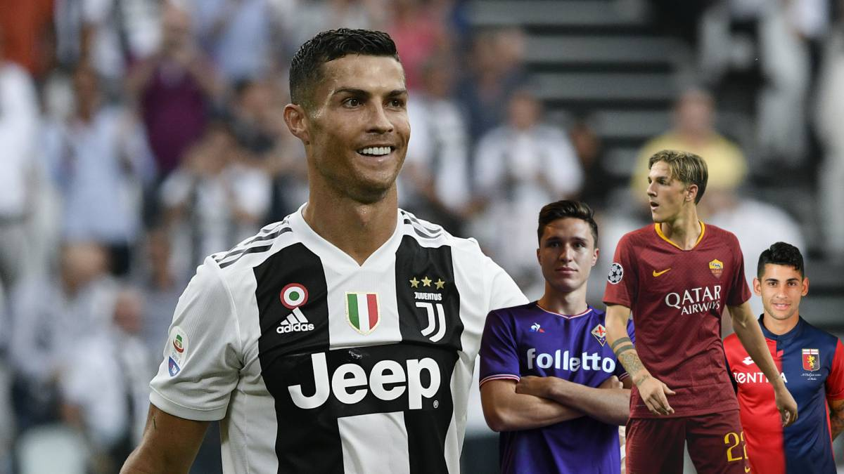 a7dba8231 Juventus plan team of the future using Cristiano Ronaldo