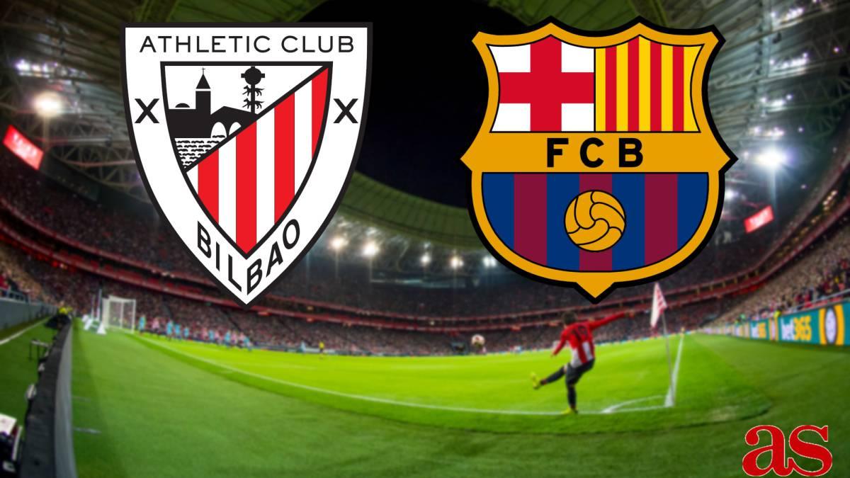 Resultado de imagen para Athletic Club vs FC Barcelona