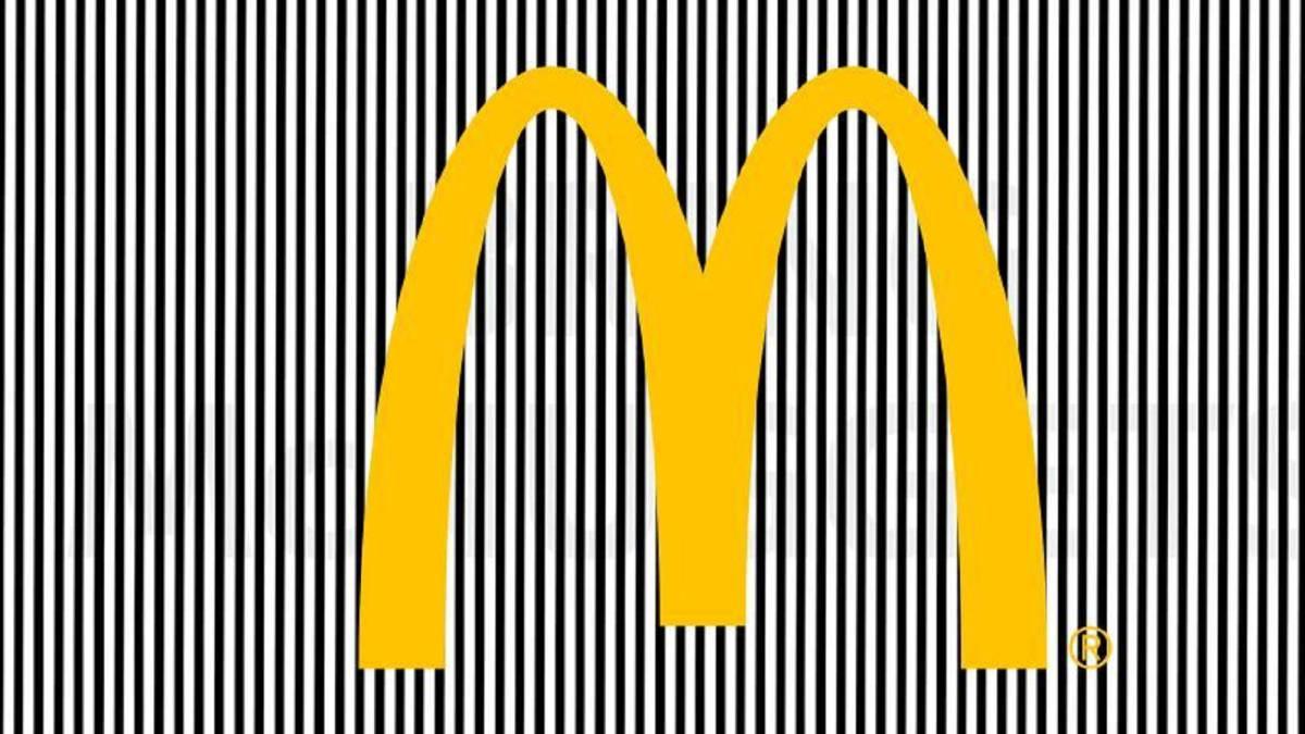 Esta ilusi n ptica de mcdonald 39 s te dar mucha hambre for Ilusiones opticas en el suelo