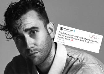 Inglaterra cae y un actor de la saga Harry Potter es 'azotado' en Twitter por los brasileños