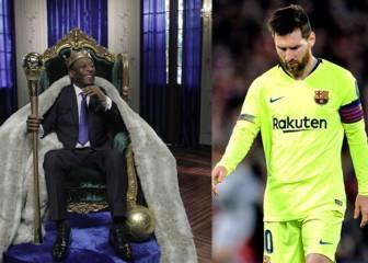 El Santos le lanza un mensaje a Messi tras la debacle: ?Solo existe un rey?