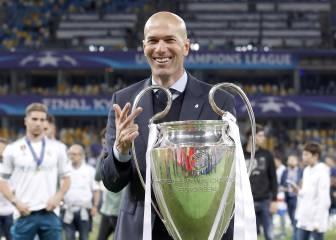 La trayectoria deportiva de Zidane en imágenes