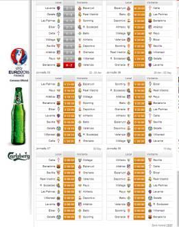 Calendario De La Liga Espanola De Futbol.Calendario De Liga Hay Liga Los 5 Partidos Que Les Quedan Al