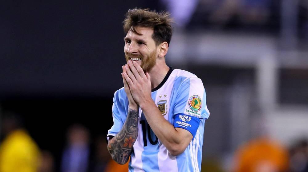 Resultado de imagen para Messi se retira de la seleccion 2016