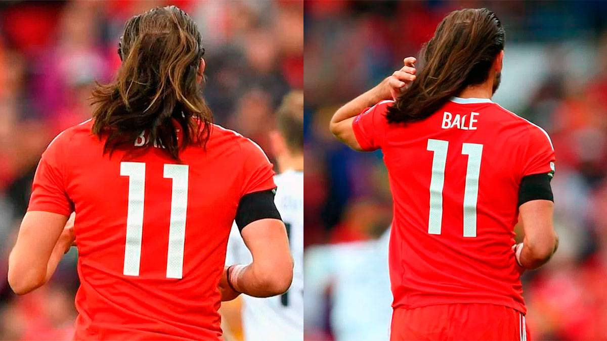 Bale Lets His Hair Down For Wales As Com