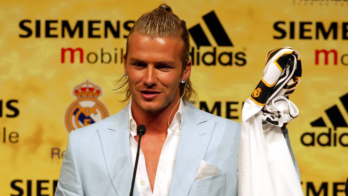 """Beckham was """"shocked and devastated"""" by sale to Real ..."""