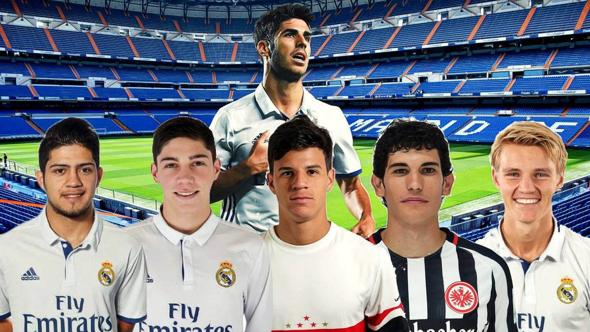 Six future stars of the real madrid first team vallejo for Championship league table 99 00