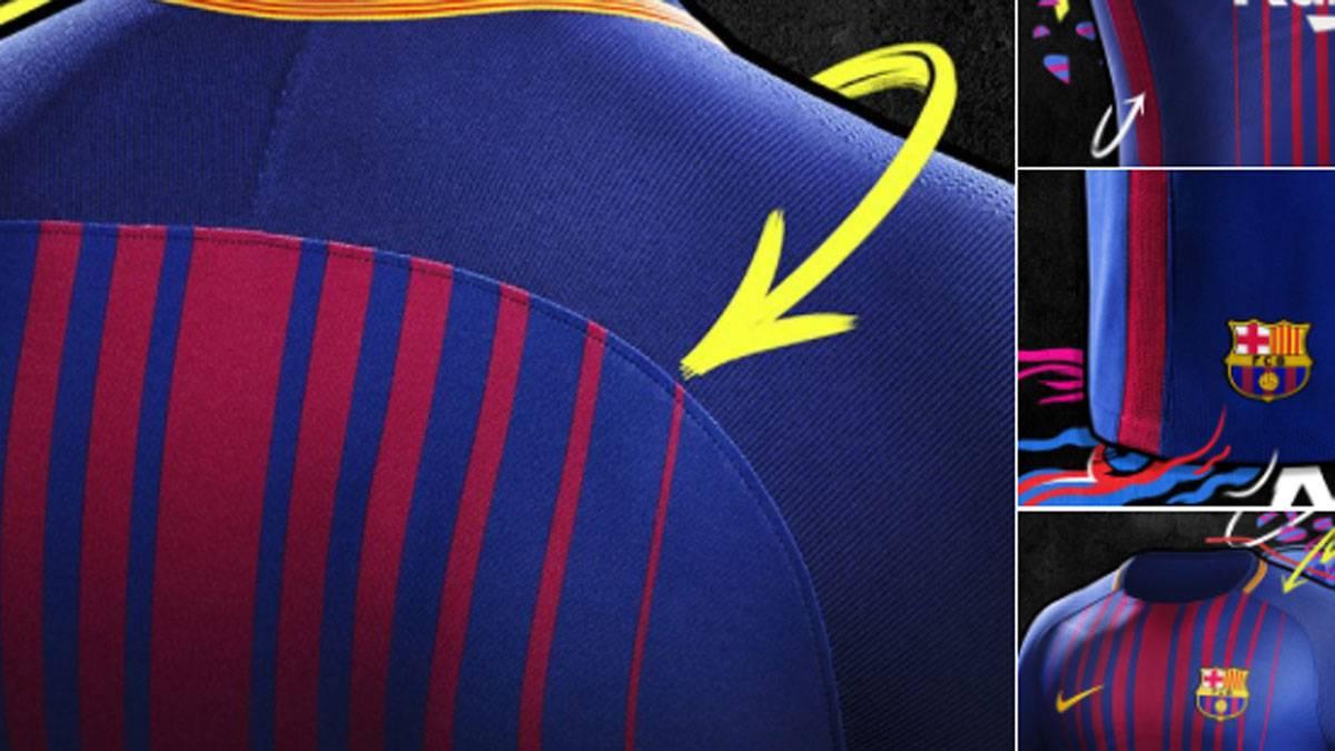 Official  FC Barcelona announce new kit for LaLiga 2017 18 - AS.com 63efe4fc31fa