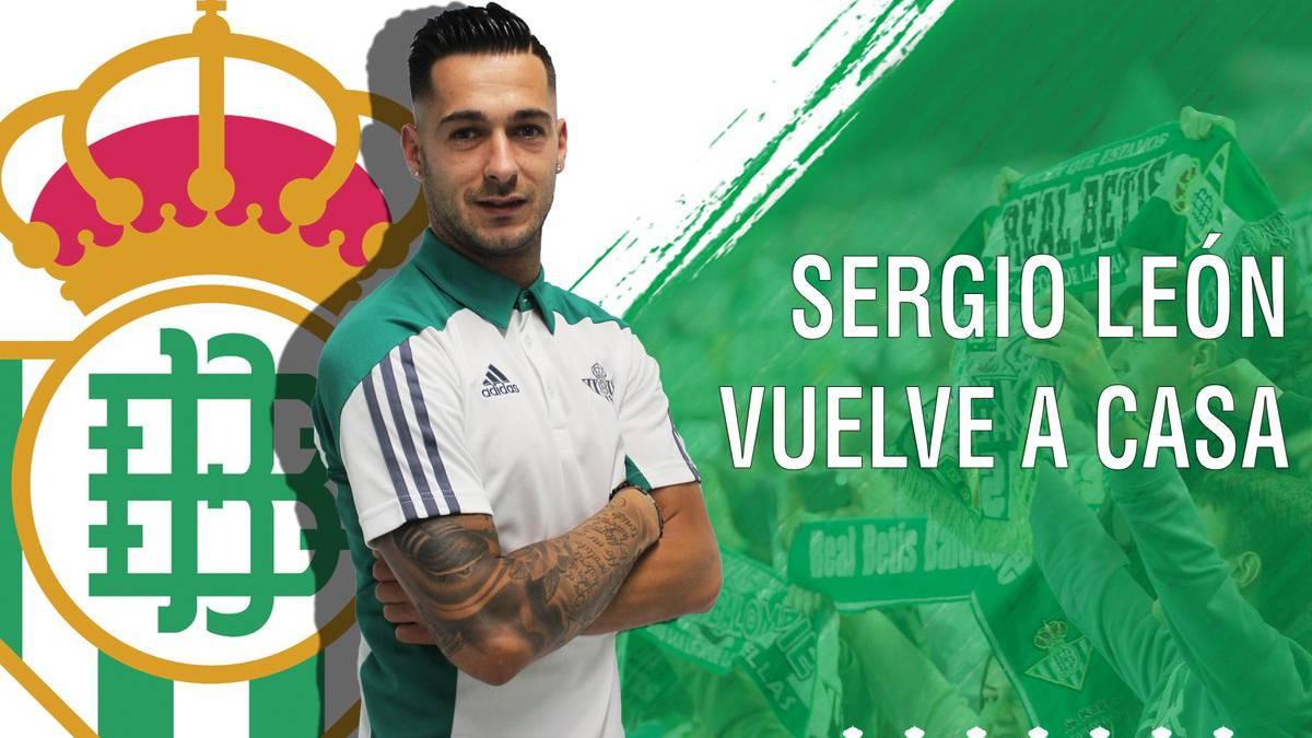 Camiseta Real Betis Sergio León