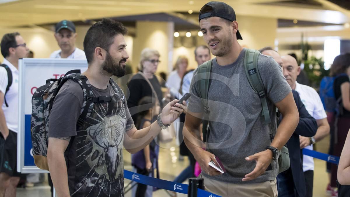 """Morata a AS: """"Me voy con el técnico que más apostó por mí"""""""