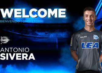 El Alavés anuncia el fichaje del guardameta Antonio Sivera