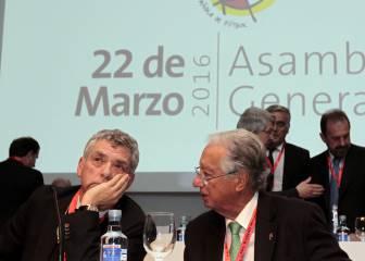 El CSD suspende cautelarmente por un año a Villar y a Padrón