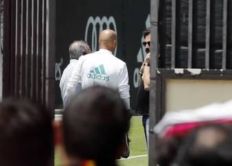 Cumbre Zidane-Florentino en UCLA para hablar de fichajes