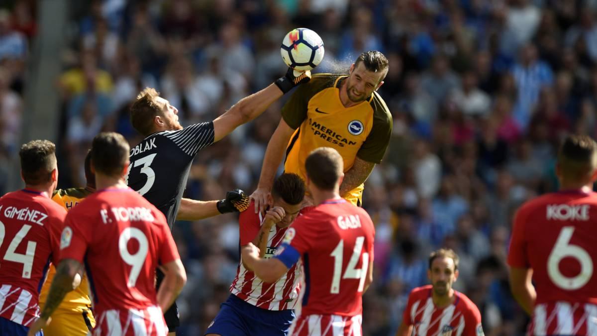 Brighton 2-3 Atlético de Madrid: Los hombres del Cholo siguen invictos - AS.com