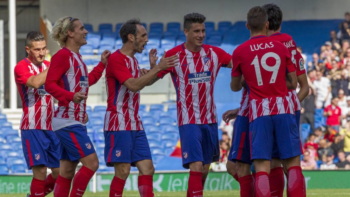Getafe atl tico de madrid resumen resultado y goles for Juego del madrid hoy