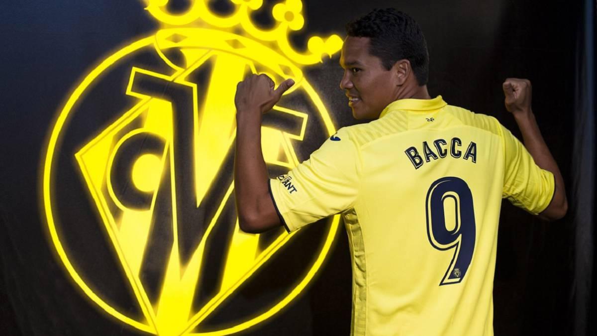0de1f8354 El Villarreal hace oficial el fichaje de Carlos Bacca - AS.com