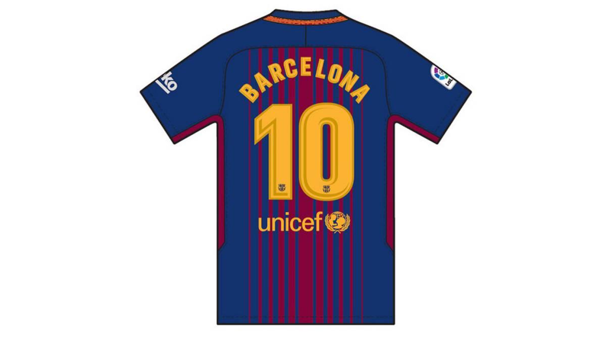 Imagen de la camiseta que lucirán en el Barcelona - Betis los jugadores del  club azulgrana. FC BARCELONA 02b970c163b