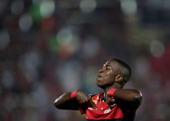 Un doblete de Vinicius Jr da el triunfo a Flamengo