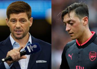 """Gerrard carga contra Özil: """"Es un lastre, no es buen compañero"""""""