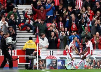 La foto que se ha hecho viral tras el gol de Jesé con el Stoke