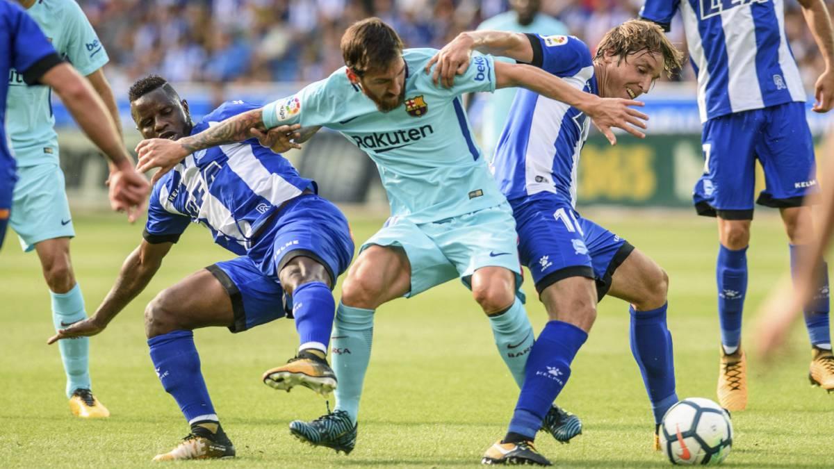 Alavés 0-2 Barcelona: resumen, resultado y goles del partido - AS.com