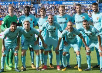 El uno por uno del Barça: 351 veces Lionel Messi