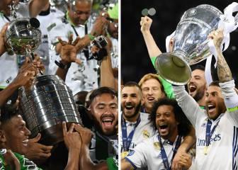 El abismo entre los premios de la Champions y la Libertadores