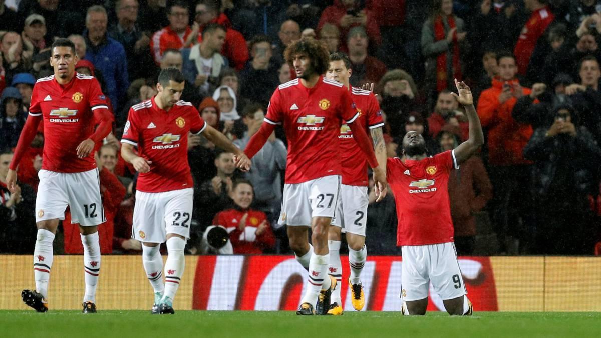 El United golea al Basilea pero pierde a Pogba