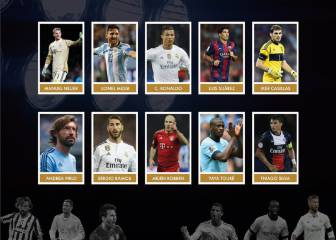 Cristiano, Messi y Ramos, nominados para el Golden Foot