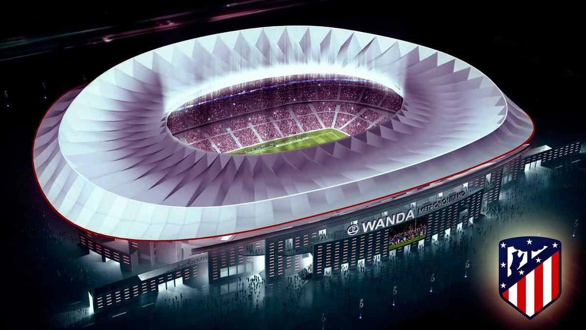 Cska Panathinaikos Hd: ATLÉTICO DE MADRID: El Wanda Metropolitano, En Gráfico: El