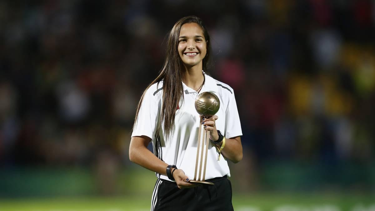 Deyna Castellanos, reina del fútbol venezolano con 18 años - AS.com