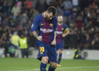 Lionel Messi ya es centenario en Europa