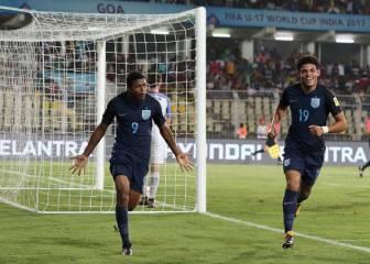 Inglaterra y Malí son los primeros semifinalistas del mundial Sub-17