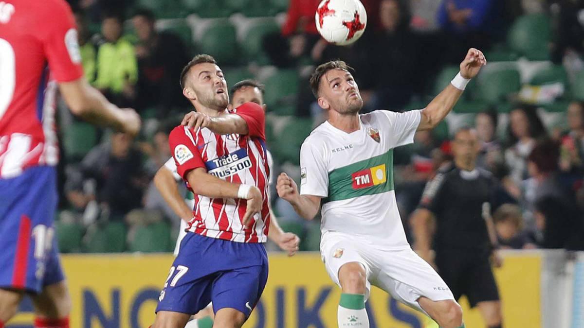 Elche 1-1 Atlético Madrid  resumen 114b43dea147b