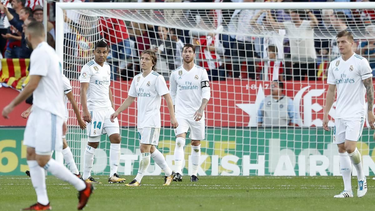 El Madrid se retrata en Girona.