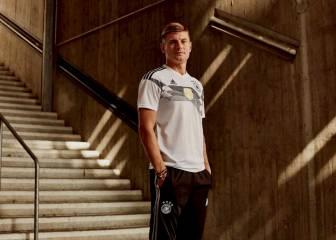 Adidas presenta las camisetas mundialistas de sus selecciones