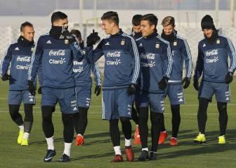 Lionel Messi y su seleccion ya tienen casa en Rusia