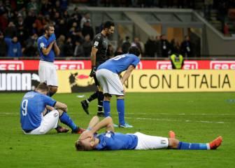 Drama: Italia fuera del Mundial